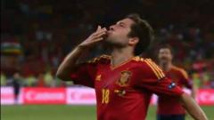 Espagne-Italie: 2-0 par Jordi Alba