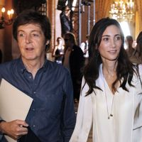 Paul McCartney en compagnie de Nancy Shevell