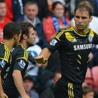 Ivanovic, auteur du premier but sur un assist d'Hazard