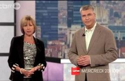 Isabelle Huysen et Paul Germain