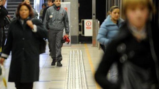 L'an dernier, Ly Khali avait sauvé la vie d'un passager de la STIB, tombé sur les voies du métro