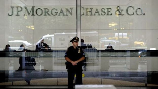 Illustration: le siège de JPMorgan