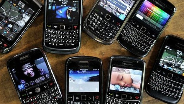 Collection de Blackberry