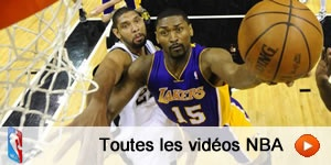 Toutes les vidos NBA